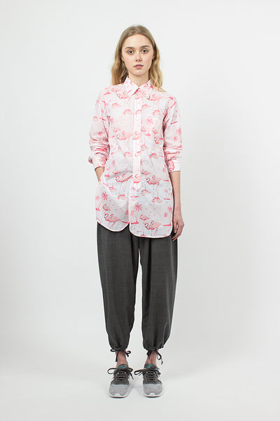 Pink Flamingo 19C BD Shirt