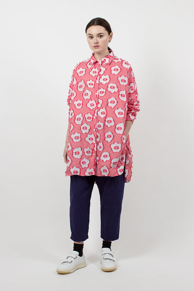 Flower Odem Shirt Red