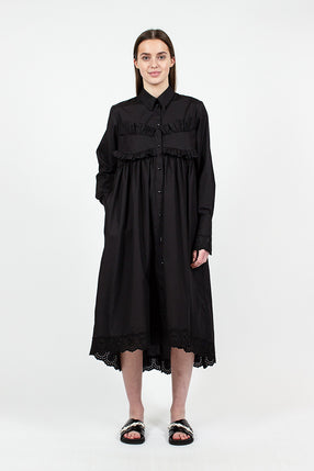 Long Frock Shirt Black