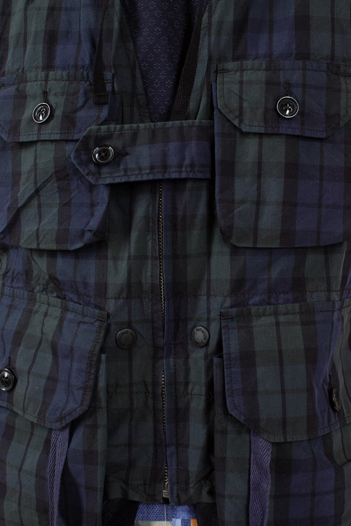 Blackwatch Nylon Check Game Vest