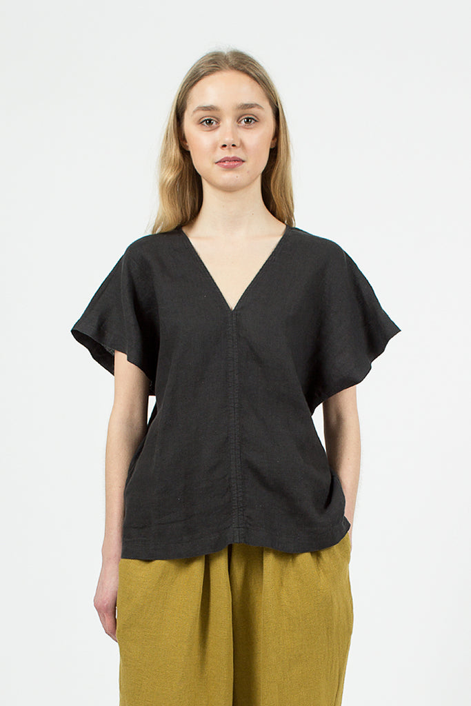 Ginkgo Top Green/Black