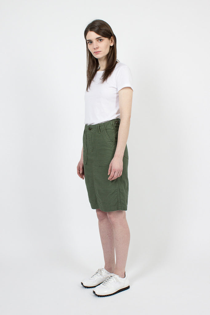 Green Fatigue Skirt