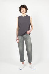 Sleeveless T-Shirt Charcoal