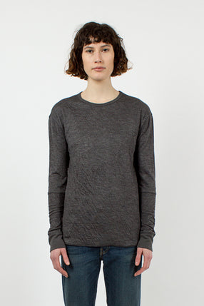 Grey Duofold Top