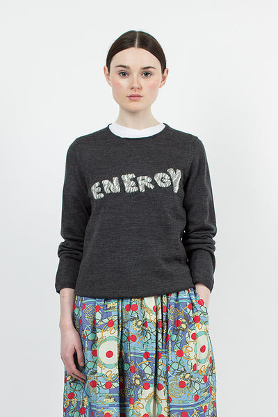 Grey 'Energy' Jumper