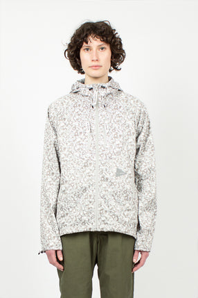 Off White Geometric Printed Trek Jacket
