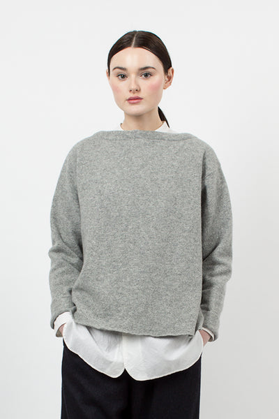 Light Grey Reversible Cardigan