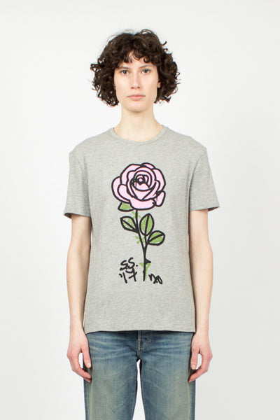 Marker Rose Boy T Grey
