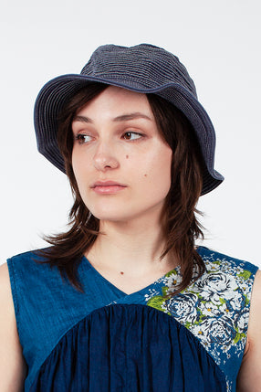 Blue Bucket Hat