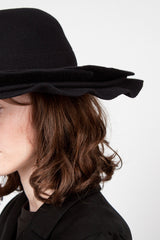 Nightbird Double Brim Wool Hat