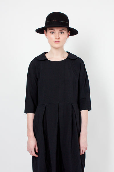 Bibi Black Wool Hat