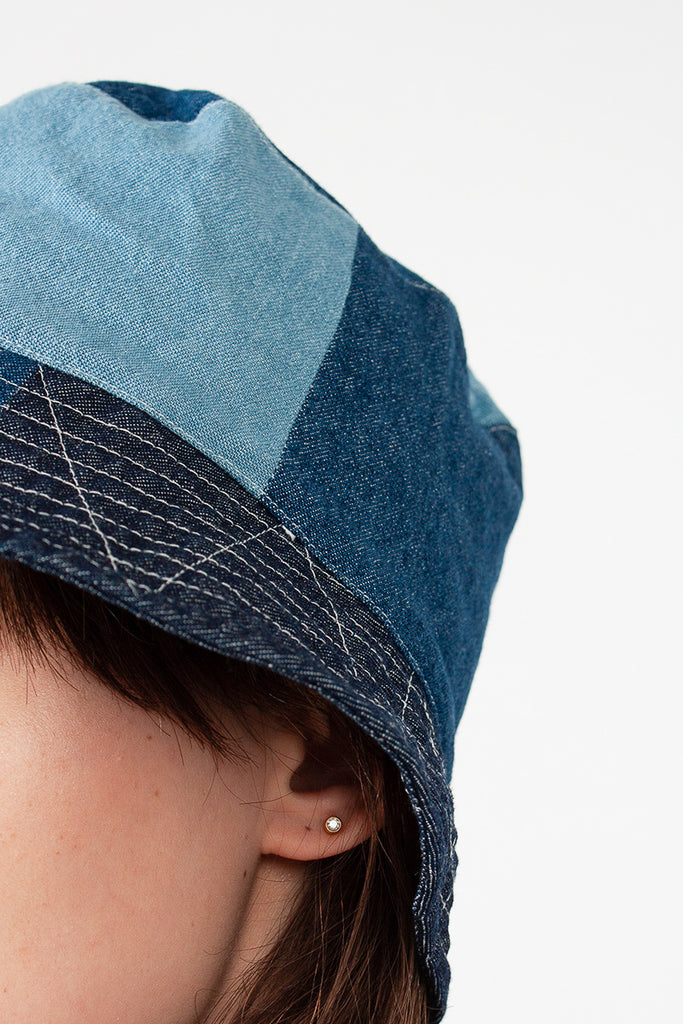Medium 8oz Denim Bucket Hat