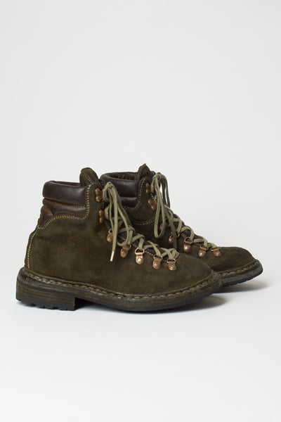 Khaki Hiking Boot