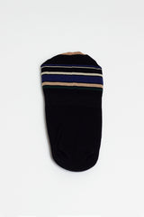 Hold Line Black Cover Sock