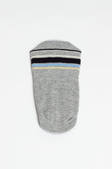 Hold Line Grey Cover Sock