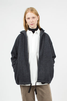 Heather Grey Hoody Robe