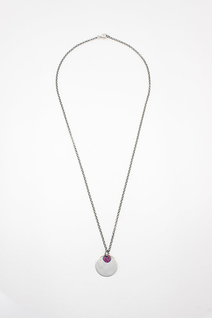 Venus And Pluton Ruby Necklace
