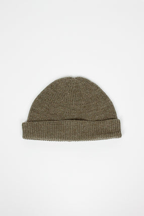 Solid Beanie Light Army