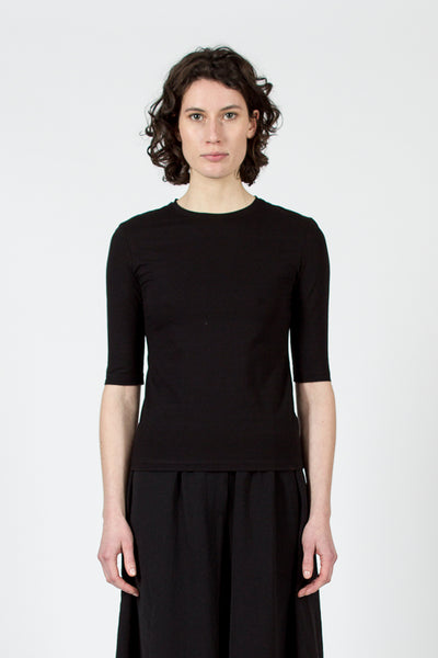 Black Idra Stretch T-Shirt