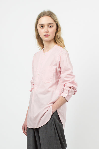 Pink High Count Cotton Lawn Irving Shirt
