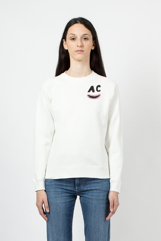 AC Teeth Sweatshirt Ivory
