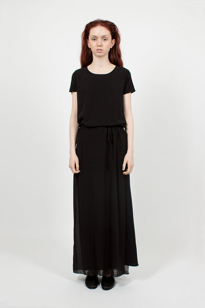 J251 Long Black Dress