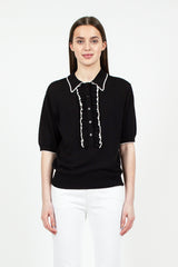 Jakele Polo Sweater Black