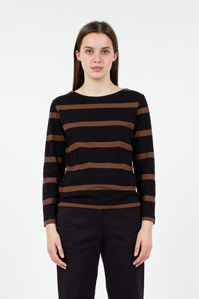 MHL Striped Matelot LS Top