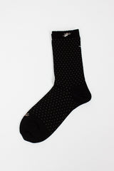 Angel Black Sock