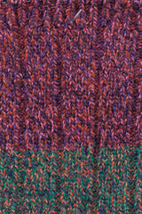 Purple/Green/Orange Gogh Sock