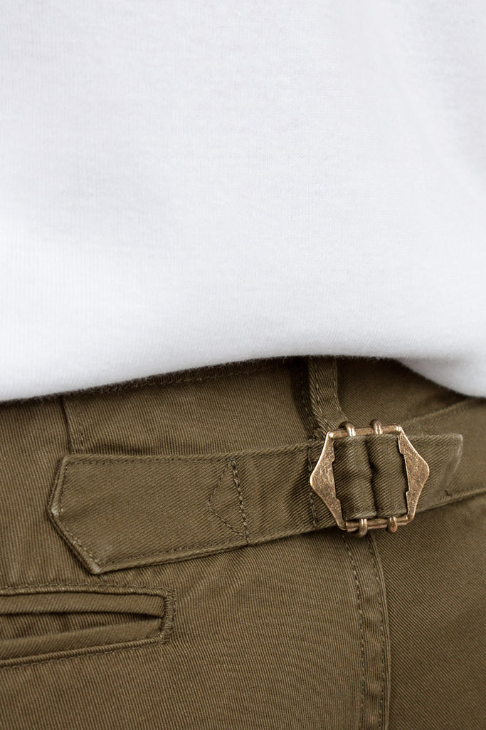 Olive High Water Chino