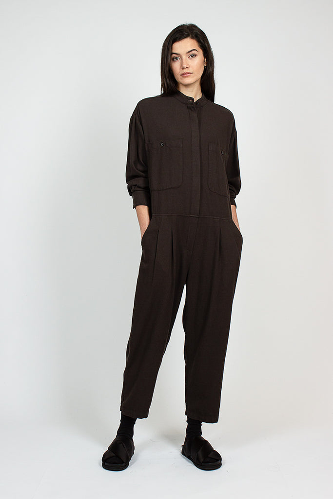 CJ19 Carpenter Dark Grey Jumpsuit