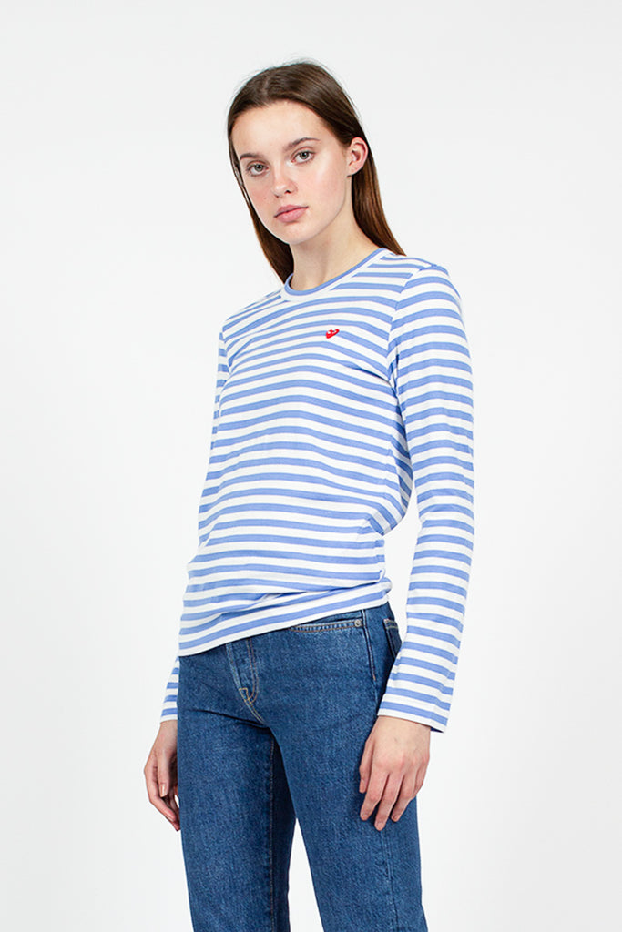 Play Blue Stripe L/S T-Shirt