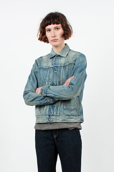 Light Vintage Denim Jacket