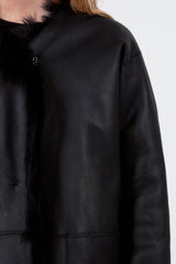 Lima Reversible Shearling Jacket