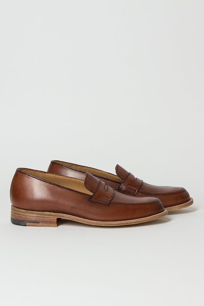 Burnished Chestnut Loafer