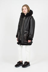 Lorin Black Aviator Jacket