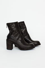 M86A Heeled Zip Back Boot