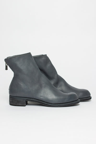 M86B Grey Zip Back Boot