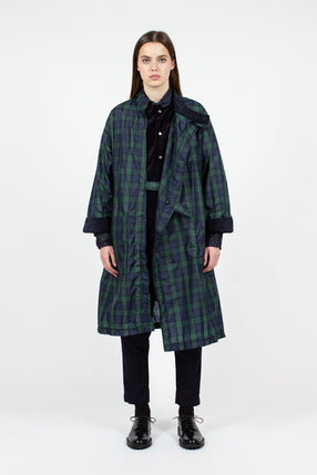 Blackwatch Check MG Coat