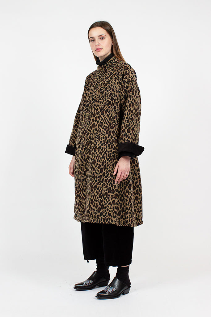 Leopard Print MG Coat