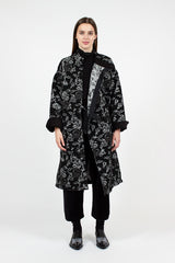 Rose Jacquard MG Coat