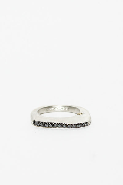 Makas Black Diamond Ring