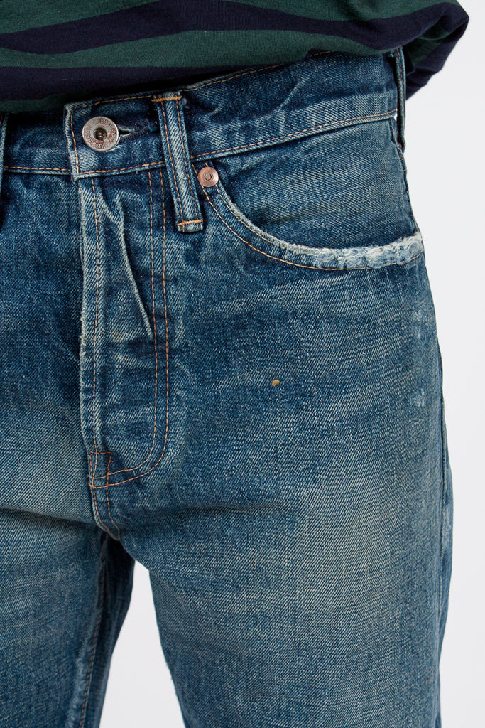 Medium Repair 13oz Selvedge Denim Jean