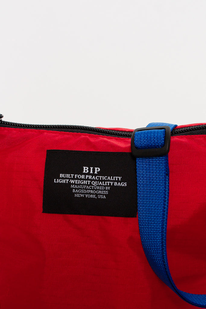 B.I.P Ripstop Red/Blue Micro Crossbody Tote