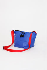 B.I.P. Ripstop Blue/Red Micro Crossbody Tote