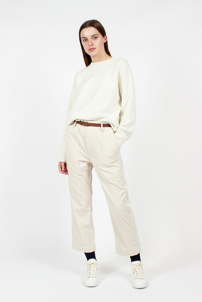 Milla Off White Cashmere Jumper
