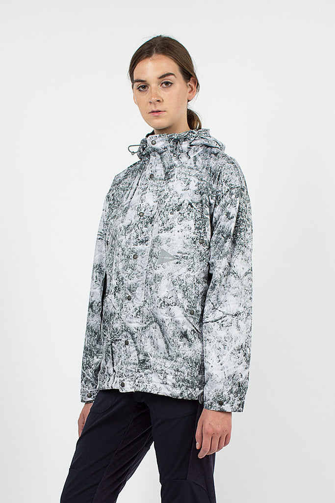 White Forest Printed Jacket