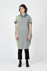 Madras Check Taffeta Dress
