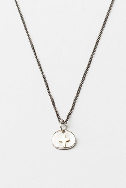 Silver/Yellow Gold Musca Necklace